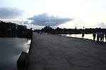 The causeway at sunset. Angkor Wat, Cambodia. June 9, 2013.