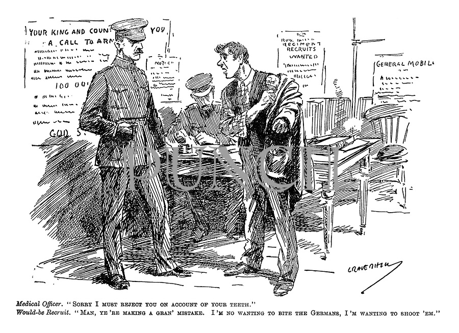 WW1 cartoons from Punch magazine by Leonard Raven Hill | PUNCH ...