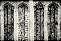 Windows at Cotehele