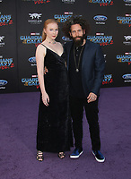 """HOLLYWOOD, CA - April 19: Molly Quinn, Guest, At Premiere Of Disney And Marvel's """"Guardians Of The Galaxy Vol. 2"""" At The Dolby Theatre  In California on April 19, 2017. Credit: FS/MediaPunch"""