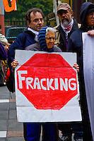 Anti Fracking Rally Chicago Illinois