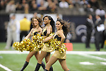 New Orleans Saints cheerleaders at the Superdome in New Orleans, La. on Monday, November 28, 2011. New Orleans won 49-24 over New York Giants.