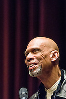 Kareem Abdul-Jabbar at the Seattle Public Library