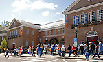 21 May 2007:  Baseball fans gather outside the Baseball Hall of Fame Museum in Cooperstown, NY...Mandatory Credit: Ed Wolfstein Photo