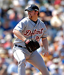 13 March 2007: Detroit Tigers pitcher Nate Robertson in the action against the Los Angeles Dodgers at Holman Stadium in Vero Beach, Florida.<br /> <br /> Mandatory Photo Credit: Ed Wolfstein Photo