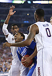 UK guard/forward James Young (1) fights for the ball during the NCAA Championship vs. UConn at the AT&T Stadium in Arlington, Tx., on Monday, April 7, 2014. Photo by Emily Wuetcher | Staff