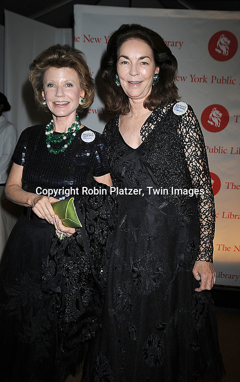 Katherine Raynor and Virginia Coleman..arriving at The New York Public Library 2008 Library Lions Benefit Gala on November 3, 2008 at The New York Public Library at 42nd Street and 5th Avenue.....Robin Platzer, Twin Images