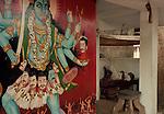 The Bhaghavati shrine