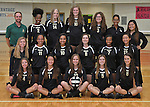 9-29-16, Huron High School varsity volleyball team