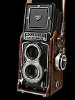 Rollieflex Rollei T with Compur Shutter and Light meter