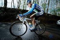 Brabantse Pijl 2012.Leuven-Overijse: 195,7km..Daniel Schorn