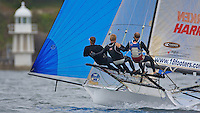 AUSTRALIA, Sydney Harbour, 17th February, JJ Giltinan Championship, Race 3, USA 1.