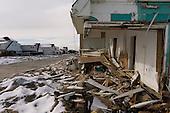 Long Beach Island, New Jersey.November 8, 2012..Hurricane Sandy damage along the shore..