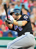 New York Mets third baseman David Wright (5) bats in the second inning against the Washington Nationals at Nationals Park in Washington, D.C. on Saturday, July 30, 2011.  .Credit: Ron Sachs / CNP.(RESTRICTION: NO New York or New Jersey Newspapers or newspapers within a 75 mile radius of New York City)