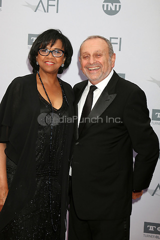 LOS ANGELES, CA - JUNE 9: Cheryl Boone Isaacs, Stanley Isaacs at the American Film Institute 44th Life Achievement Award Gala Tribute to John Williams at the Dolby Theater on June 9, 2016 in Los Angeles, California. Credit: David Edwards/MediaPunch