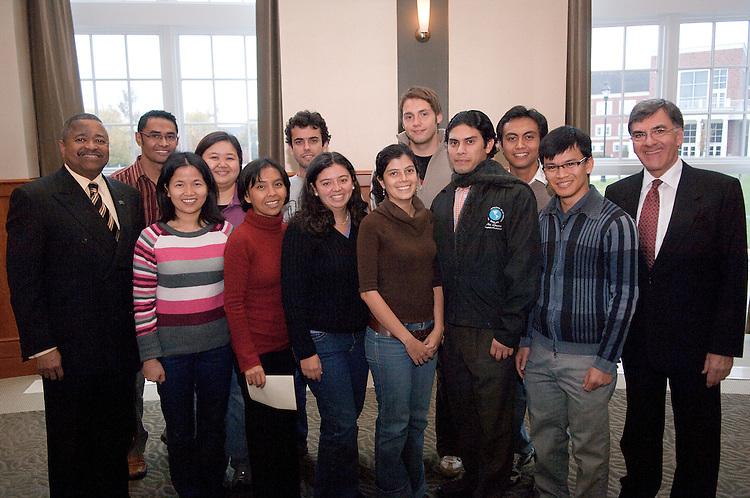 18496Sponsored International Students Reception: Nov 7th, 2007...Fulbright Scholars