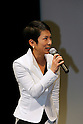Dec. 21  Tokyo, Japan. Murata Renho, member of the upper house of the Diet in Japan, speaks to reporters at Tokyo FM Hall during the Yona Yona Party preview on Dec. 21, 2009. Yona Yona Penguin is an animated film by the Japanese anime studio Madhouse and sister company Dynamo Pictures, and directed by Rintaro, known for Galaxy Express 999 and Metropolis. The Madhouse's first fully 3D CGI movie premieres in Japan on December 23, 2009.