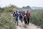 Migrants: the route from Greece to Hungary