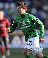 FUSSBALL   1. BUNDESLIGA   SAISON 2011/2012    20. SPIELTAG  05.02.2012 SC Freiburg - SV Werder Bremen Mehmet Ekici (SV Werder Bremen)