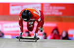 17 December 2010: Michael Douglas sliding for Canada, finishes in 11th place at the Viessmann FIBT Skeleton World Cup Championships in Lake Placid, New York, USA. Mandatory Credit: Ed Wolfstein Photo