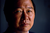 Seoul, South Korea<br /> April 1987<br /> <br /> Kim Dae-jung, when an opposition leader to the ruling party. <br /> <br /> Kim Dae-jung (3 December 1925 to 18 August 2009) was President of South Korea from 1998 to 2003, and the 2000 Nobel Peace Prize recipient. As of this date Kim is the first and only Nobel laureate to hail from Korea. A Roman Catholic since 1957, he has been called the &quot;Nelson Mandela of Asia&quot; for his long-standing opposition to authoritarian rule.