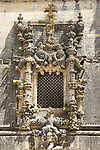 The Manueline Chapter House Window, Convent of Christ - Cristo, Tomar, Portugal