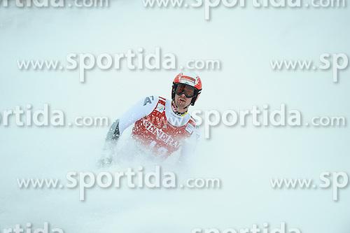 25.01.2013, Streif, Kitzbuehel, AUT, FIS Weltcup Ski Alpin, Super G, Herren, im Bild Joachim Puchner (AUT) // Joachim Puchner of Austria reacts after mens SuperG of the FIS Ski Alpine World Cup at the Streif course, Kitzbuehel, Austria on 2013/01/25. EXPA Pictures © 2013, PhotoCredit: EXPA/ Erich Spiess