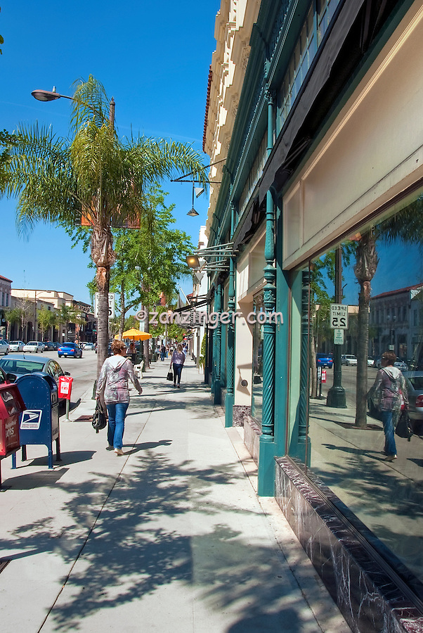Pasadena, CA, Old Town, Colorado, Boulevard, Shopping Restaurants