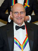 Musician James Taylor, one of the five recipients of the 39th Annual Kennedy Center Honors pose for a group photo following a dinner hosted by United States Secretary of State John F. Kerry in their honor at the U.S. Department of State in Washington, D.C. on Saturday, December 3, 2016.  The 2016 honorees are: Argentine pianist Martha Argerich; rock band the Eagles; screen and stage actor Al Pacino; gospel and blues singer Mavis Staples; and musician James Taylor.<br /> Credit: Ron Sachs / Pool via CNP
