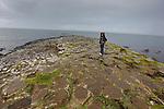 Allison at The Giant's Causeway in County Antrim, Northern Ireland on Saturday, June 22nd 2013. (Photo by Brian Garfinkel)