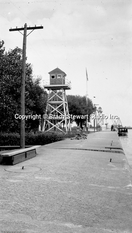 Erie PA:  View of a Watch Tower overlooking Lake Erie.  Brady and Sarah Stewart went on vacation with family (Sarah's sister and husband)- 1915