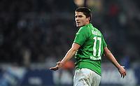 FUSSBALL   1. BUNDESLIGA   SAISON 2011/2012   19. SPIELTAG Werder Bremen - Bayer 04 Leverkusen                    28.01.2012 Aleksandar Ignjovski (SV Werder Bremen)
