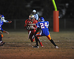 Lafayette High's D.K. Buford (2) vs. North Pontotoc at William L. Buford Stadium in Oxford, Miss. on Thursday, October 27, 2011. Lafayette High won 49-7...