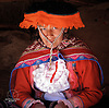 Peruvian woman in Cusco, Peru