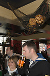 EASTER GOOD FRIDAY  THE WIDOWS SON PUB, HOT CROSS BUN CEREMONY LONDON STOCK PHOTOGRAPHY UK