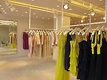 Shopping at Max & Co, a high fashion Italian shop in Paris, France