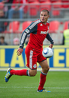 22 October 2011: Toronto FC forward Danny Koevermans #14 in action during a game between the New England Revolution and Toronto FC at BMO Field in Toronto..The game ended in a 2-2 draw.