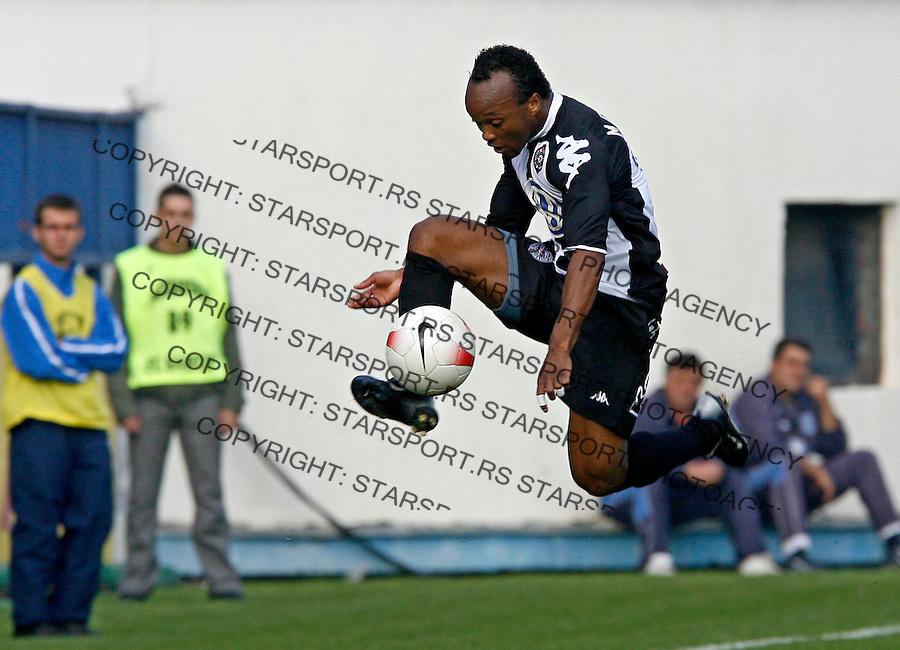 Fudbal, Meridijan super liga, sezona 2007/08.Smederevo Vs. Partizan.Almani Moreira, from Portugal.Smederevo, 06.10.2007..foto: Srdjan Stevanovic