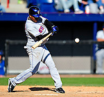 6 March 2010: New York Mets' infielder Anderson Hernandez in action during a Spring Training game against the Washington Nationals at Space Coast Stadium in Viera, Florida. The Mets defeated the Nationals 14-6 in Grapefruit League action. Mandatory Credit: Ed Wolfstein Photo