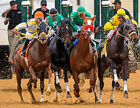 Scenes from the races on Charles Town Classic Night at Charles Town Races & Slots in Ranson, West Virginia on April 14, 2012.