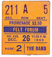 JUL 29 Old concert ticket stubs