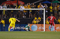 3 JULY 2010:  Andrew Dykstra of Chicago Fire (40) during MLS soccer game between Chicago Fire vs Columbus Crew at Crew Stadium in Columbus, Ohio on July 3, 2010.