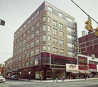Hotel Governor, Harrisburg, PA. 1950's  Exterior