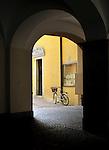 La Bicicletta. Chiavenna, Italy.