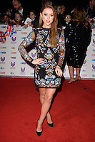 LONDON, UK. October 31, 2016: Una Foden at the Pride of Britain Awards 2016 at the Grosvenor House Hotel, London.<br /> Picture: Steve Vas/Featureflash/SilverHub 0208 004 5359/ 07711 972644 Editors@silverhubmedia.com