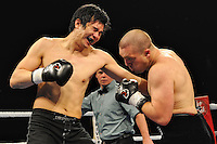 Ty McDougall v. Victor Wang - Light Heavyweight - Boxing - Rumble at the Rock VII - Photo Archive