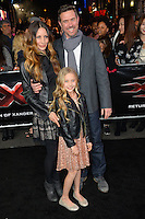 Scott Hemming &amp; Family at the Los Angeles premiere for &quot;XXX: Return of Xander Cage&quot; at the TCL Chinese Theatre, Hollywood. Los Angeles, USA 19th January  2017<br /> Picture: Paul Smith/Featureflash/SilverHub 0208 004 5359 sales@silverhubmedia.com