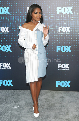 NEW YORK, NY - MAY 15: Ryan Destiny attends the FOX Upfront at Woolman Rink in Central Park on May 15, 2017 in New York City.  Photo by John Palmer/MediaPunch