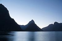 Mitre peak and Milford sound