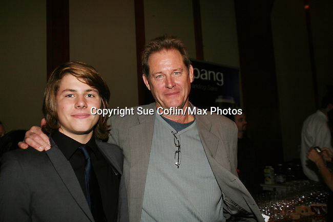 OLTL's Brian Kerwin and son Finn at the 16th Annual Feast with Famous Faces to benefit the League for the Hard of Hearing on October 27, 2008 at Pier Sixty at Chelsea Piers, New York City, New York. (Photo by Sue Coflin/Max Photos)
